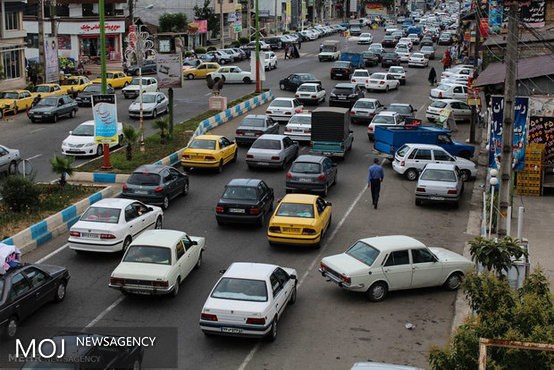 ترافیک نیمه سنگین در محورهای شمالی