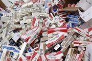 ۱۴ میلیون نخ سیگار خارجی قاچاق کشف و امحاء شد / جریمه ۴۰۰ میلیون تومانی قاچاقچیان سوخت در دریای عمان