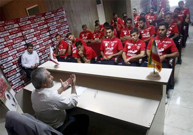 سرپرست و معاونان باشگاه پرسپولیس از ورزشگاه شهید کاظمی بازدید کرد