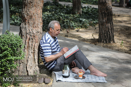 روز طبیعت در بوستان لاله