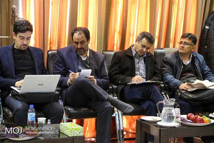 نشست خبری  مدیر منطقه یازده شهرداری اصفهان