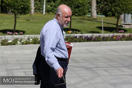 اولین جلسه هیات دولت در سال ۹۸/بیژن نامدار زنگنه وزیر نفت