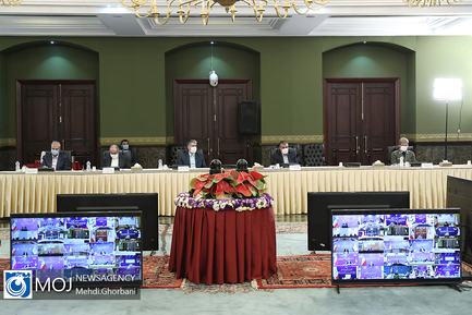 جلسه ستاد ملی مدیریت کرونا - ۱۴ تیر ۱۳۹۹