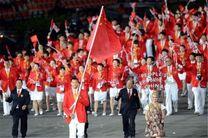 کاروان ۷۱۱ نفره چین با ۳۵ قهرمان المپیک به ریو میرود