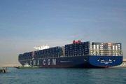 کشتی غول پیکر  «اِور گیون» در کانال سوئز به حرکت درآمد