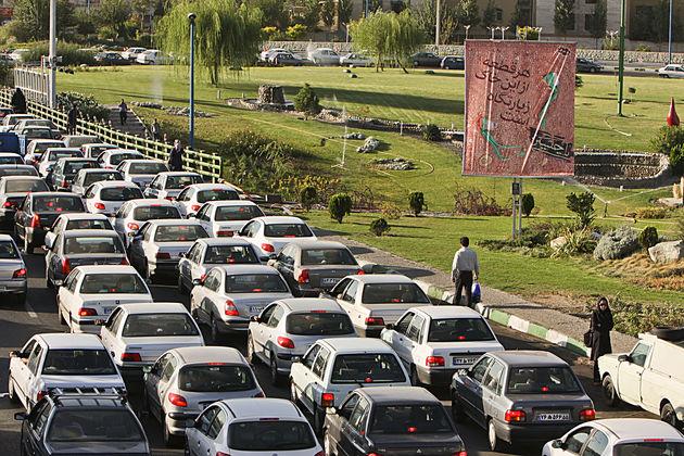 محورهای دارای ترافیک سنگین امروز 13 فروردین