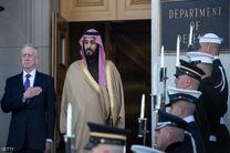 دیدار وزیر دفاع آمریکا با محمد بن سلمان