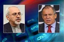 تاکید ظریف و لاوروف بر غیرقانونی بودن حمله آمریکا به سوریه