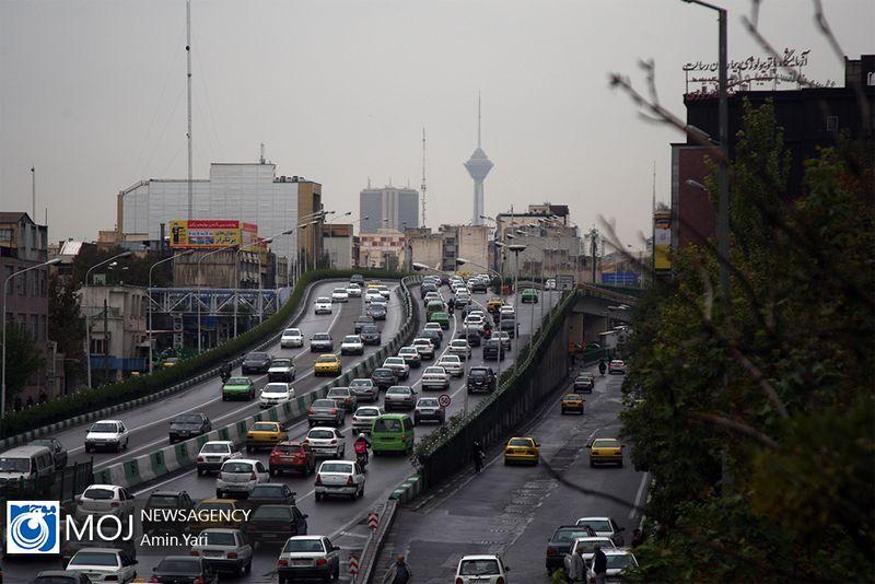 وضعیت ترافیکی بزرگراه های تهران در صبح ۷ اسفند اعلام شد