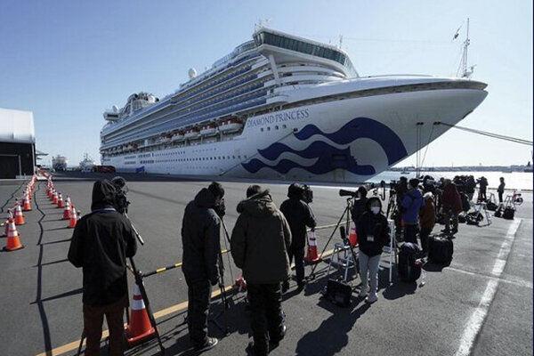 تست کرونا از مسافران کشتی سانی