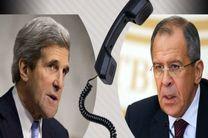 مذاکره کری و لاوروف در خصوص ازسرگیری مذاکرات صلح سوریه