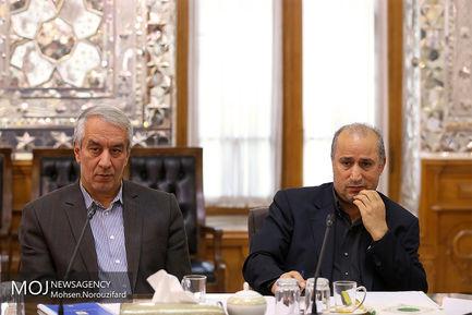 دیدار هیات رییسه فدراسیون فوتبال با علی لاریجانی
