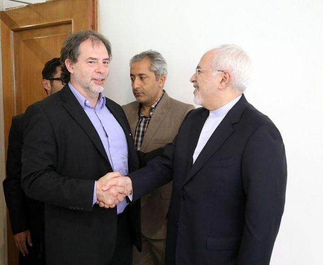 معاون رئیس مجلس سنای شیلی با ظریف دیدار کرد