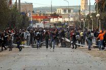 درگیری معترضین تونسی و نیروهای امنیتی شدت گرفت