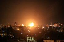 حمله هوایی رژیم صهیونیستی به مواضع حماس