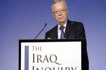 چیلکات: «تونی بلر» در ورود به جنگ عراق صداقت به خرج نداد