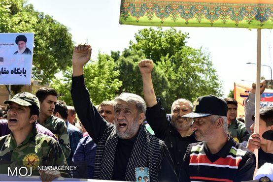 حضور باشکوه ملت اسلامی در راهپیمایی روز قدس