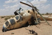 سقوط یک بالگرد آمریکایی در استان الحسکه سوریه