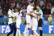 نخستین بازگشت جام جهانی پس از گذشت ۲۶ بازی رقم خورد