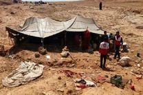 امدادرسانی نیروهای امدادی هلال احمر به  بیش از دو هزار خانوار عشایری