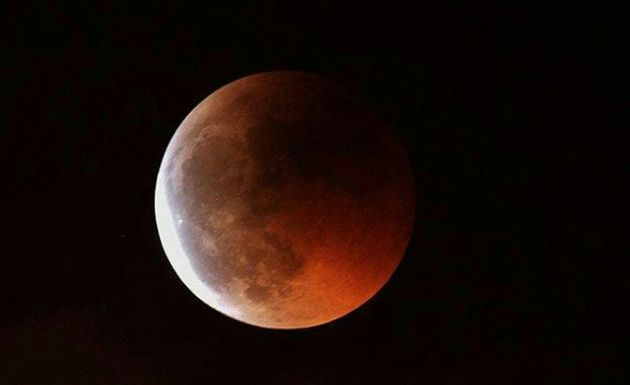 رصد ماه گرفتگی بی نظیر قرن برای نخستین بار در پدیده شاندیز