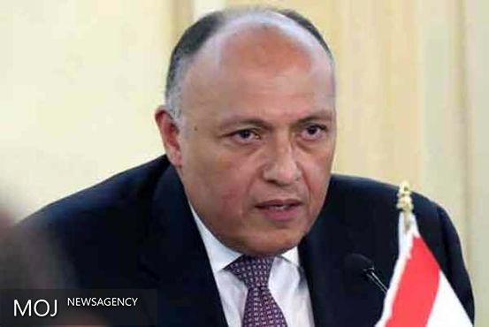 سامح شکری برای دیدار با مقامات عراق وارد بغداد شد
