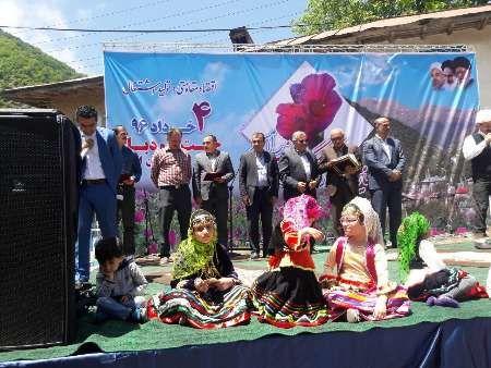 چهارمین جشنواره ملی گل گاوزبان در رامسر برگزار شد