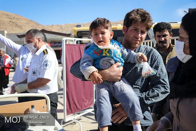 تعداد کشته شدگان زلزله غرب کشور به 348 نفر رسید