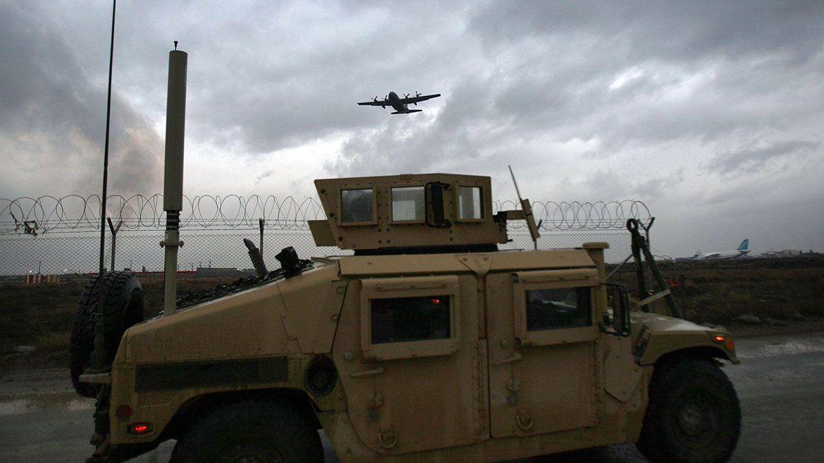 انفجار بمب در مسیر کامیون نیروهای ائتلاف در عراق