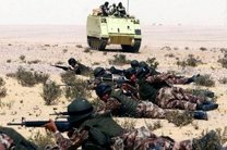 تعقیب و گریز ارتش مصر و تروریست ها در شمال سینا