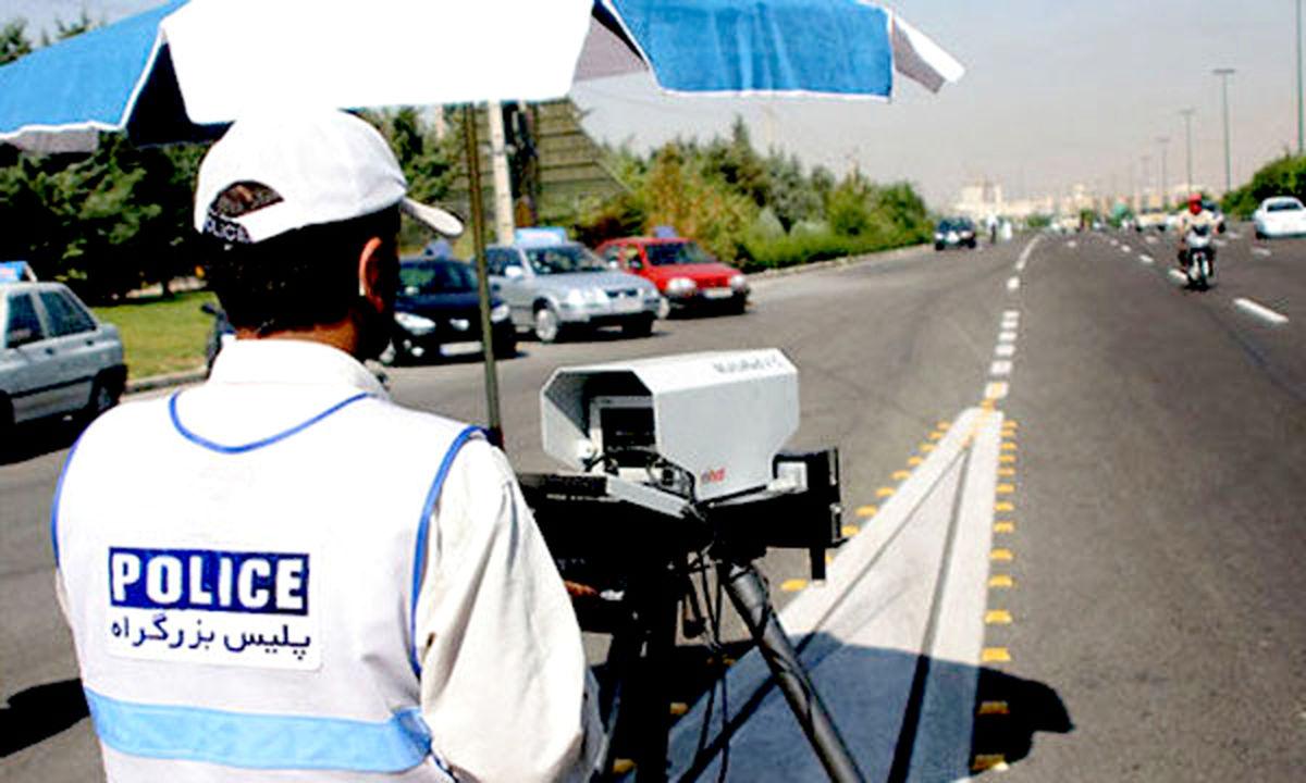 جریمه ۶۴۰ دستگاه خودروی غیربومی در جادههای غربی خراسان رضوی