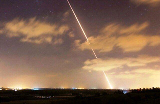 شلیک پنج موشک از نوار غزه به طرف شهرک سدیروت