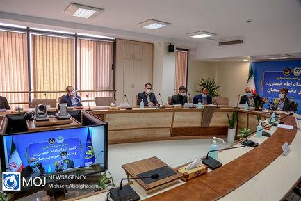 امضای تفاهم نامه همکاری بین کمیته امداد و صندوق ذخیره بسیجیان