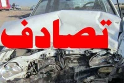نشت گازوئیل کامیون میکسر عامل تصادف 16 خودرو در تهران