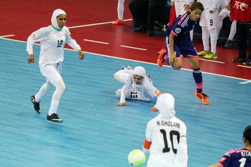 بازی استقلال ساری در چهاردهمین دوره مسابقات لیگ برتر فوتسال زنان تغییر کرد