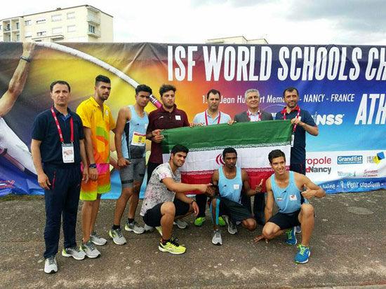 دانش آموزان دونده ایران بر بام جهان ایستادند