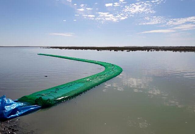 کشف ۴۰ هزار لیتر سوخت قاچاق در آب های بندرعباس