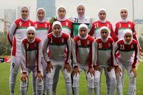 تیم ملی فوتبال بانوان به مصاف بلاروس می رود