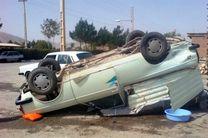 یک کشته در اثر واژگونی یک دستگاه وانت پیکان در اصفهان
