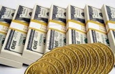 افزایش نرخ دلار و قیمت سکه در بازار آزاد