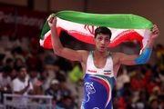 گرایی در وزن 72 کیلوگرم به مدال طلا دست یافت