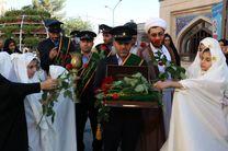 آیین استقبال از کاروان سفیران کریمه در امامزاده زینب بنت موسی بن جعفر(ع) اصفهان برگزار شد