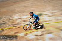 فراز شکری به مدال نقره مسابقه تک مرحله ای کوهستان قطر رسید