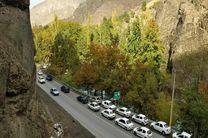 آخرین وضعیت ترافیکی و جوی جاده چالوس در 10 شهریور اعلام شد