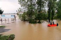 سیلاب جان ۳ نفر را در گیلان گرفت
