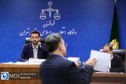 چهارمین جلسه دادگاه رسیدگی به اتهامات اخلالگران در حوزه پتروشیمی