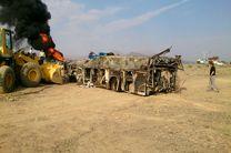 10 نفر از مصدومان حادثه اتوبوس تهران-کرمان مرخص شدند