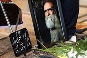 کریم اکبری مبارکه در قطعه هنرمندان بهشت زهرا آرام گرفت