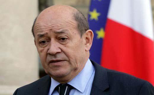 وزیر امور خارجه فرانسه وارد ایران شد