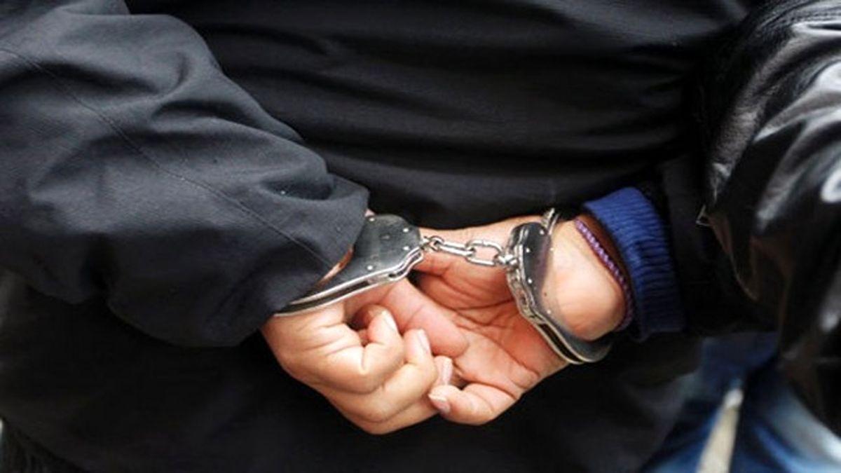 دستگیری قاتل مسلح متواری در میناب
